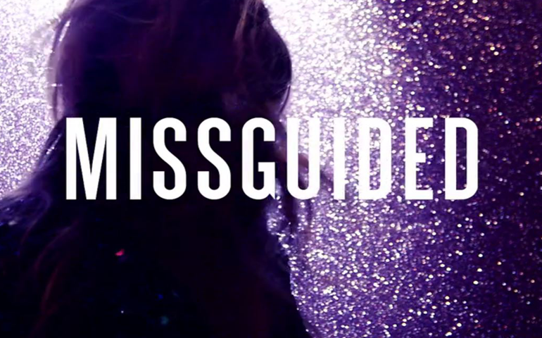 A still form the Missguided ad which utilised never.no ad tech